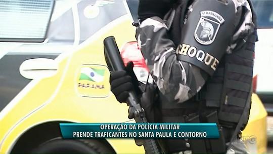 PM prende nove pessoas em operação contra o tráfico de drogas em Ponta Grossa
