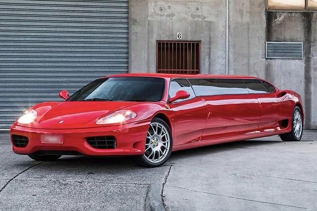 Ferrari limousine (Foto: Divulgação)