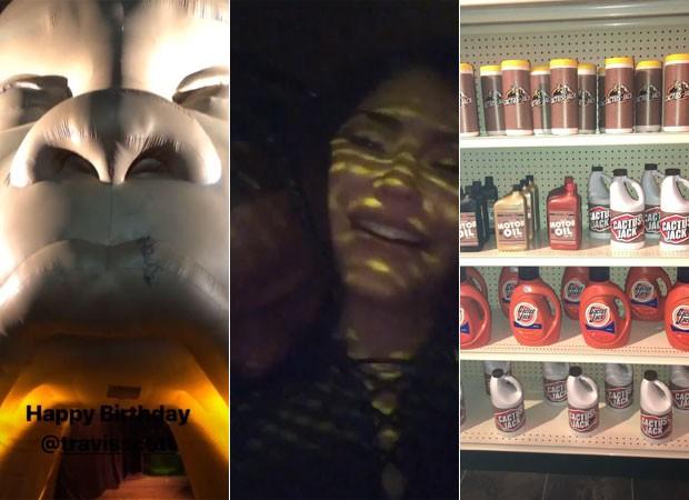 Kylie Jenner prepara festança para Travis Scott (Foto: Reprodução)