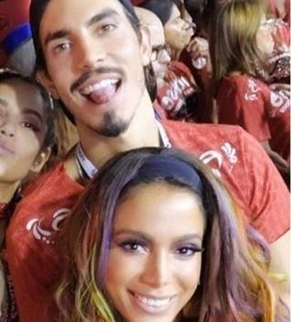 Anitta e Gabriel David (Foto: Reprodução de Instagram)