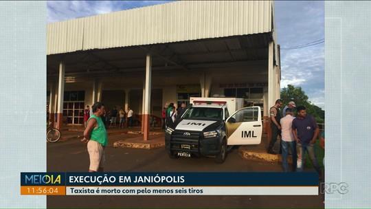 Homem é executado a tiros quando abria comércio em Janiópolis