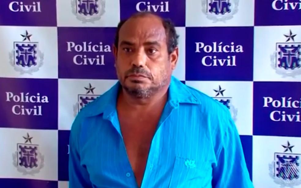 Suspeito foi preso ao visitar vítima em hospital, segundo polícia (Foto: Reprodução/TV Santa Cruz)