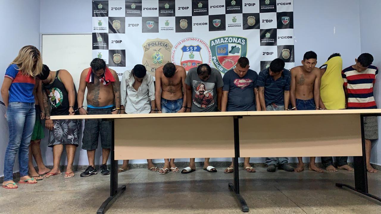 Operação prende 19 pessoas e apreende adolescentes por crimes de latrocínio, estupro, homicídio e outros, no AM - Notícias - Plantão Diário
