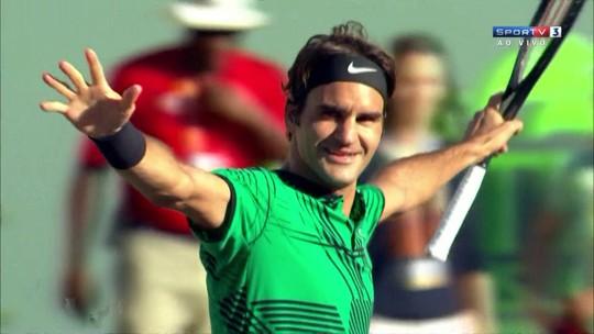 Suado! Federer supera Berdych, passa para semifinal e vê novo Fedal próximo