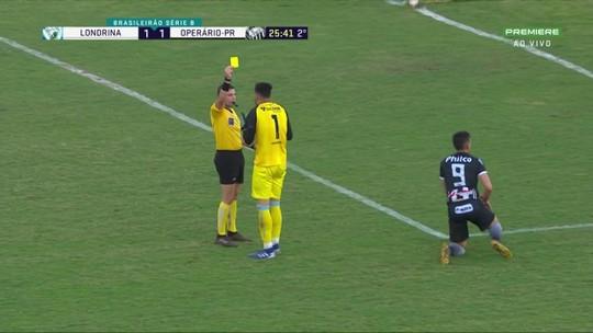 Veja os gols, os pênaltis e os melhores momentos de Londrina 1x2 Operário-PR, na Série B