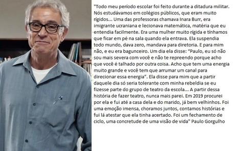 Paulo Gorgulho TV Globo