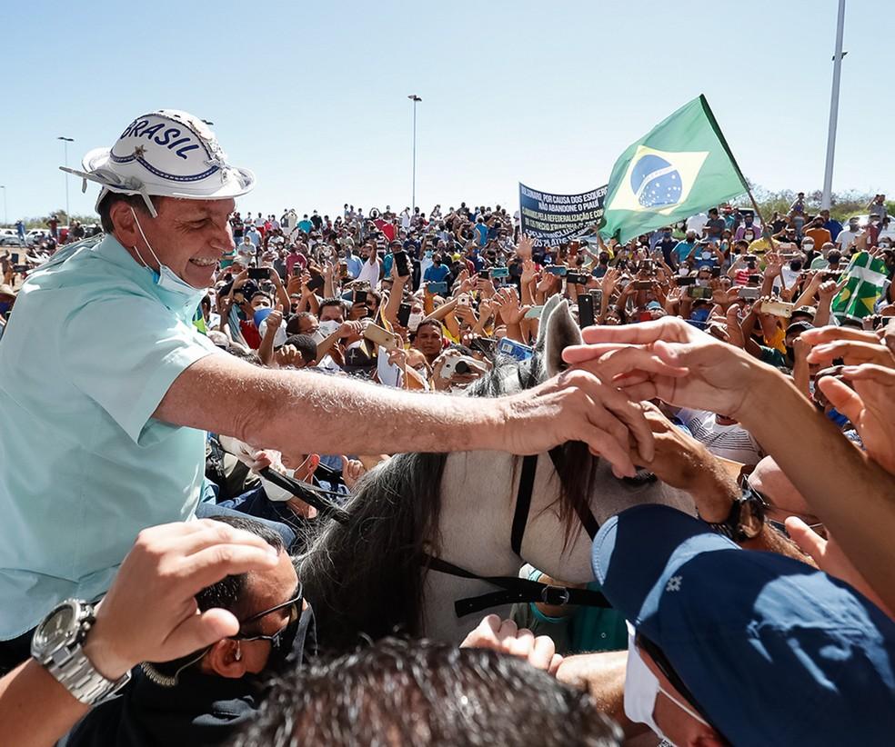 Bolsonaro visita Nordeste em clima de campanha   Política   Valor ...