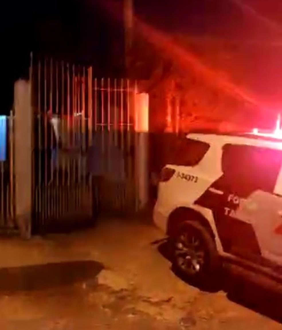 Executivo sequestrado na Grande SP é libertado após mais de 8h em cativeiro em Nazaré Paulista — Foto: Polícia Militar/Divulgação