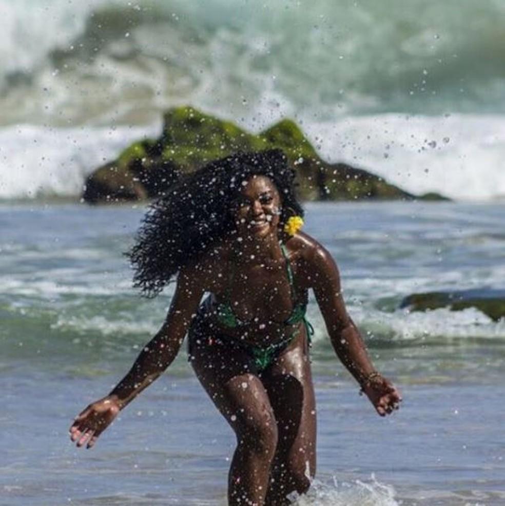 Cris Vianna exibe corpão — Foto: Reprodução da internet
