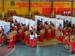 Incrições para Colégio dos Bombeiros seguem até o dia 20 de outubro (Foto: SSPDS)