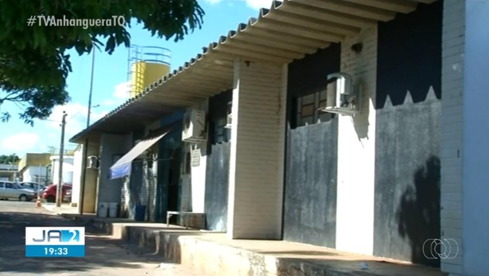Homem está detido na Casa de Prisão Provisória de Araguaína — Foto: Reprodução/TV Anhanguera