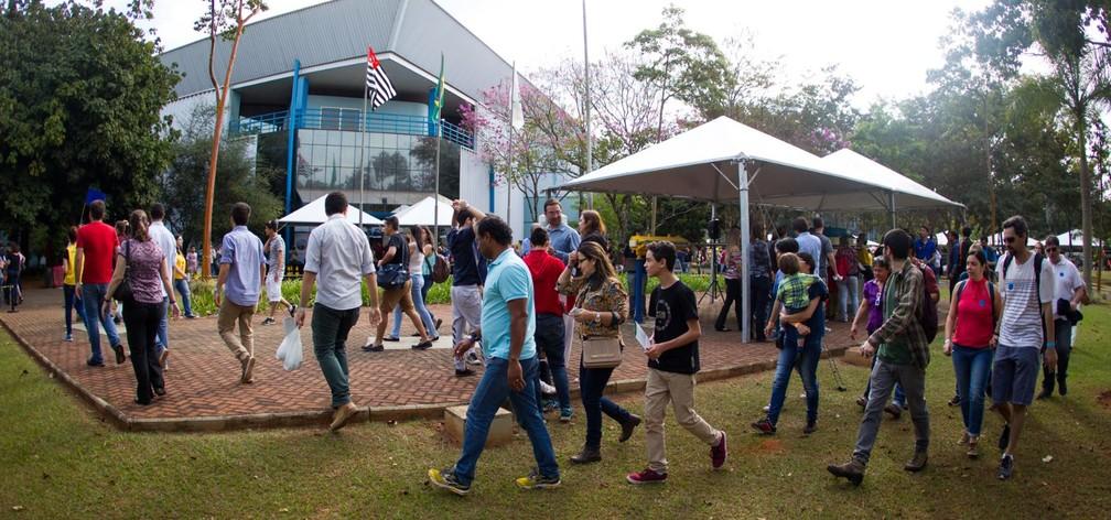 O Ciência Aberta abre as portas do Laboratório Nacional de Luz Síncrotron para o público em geral (Foto: Divulgação/CNPEM)