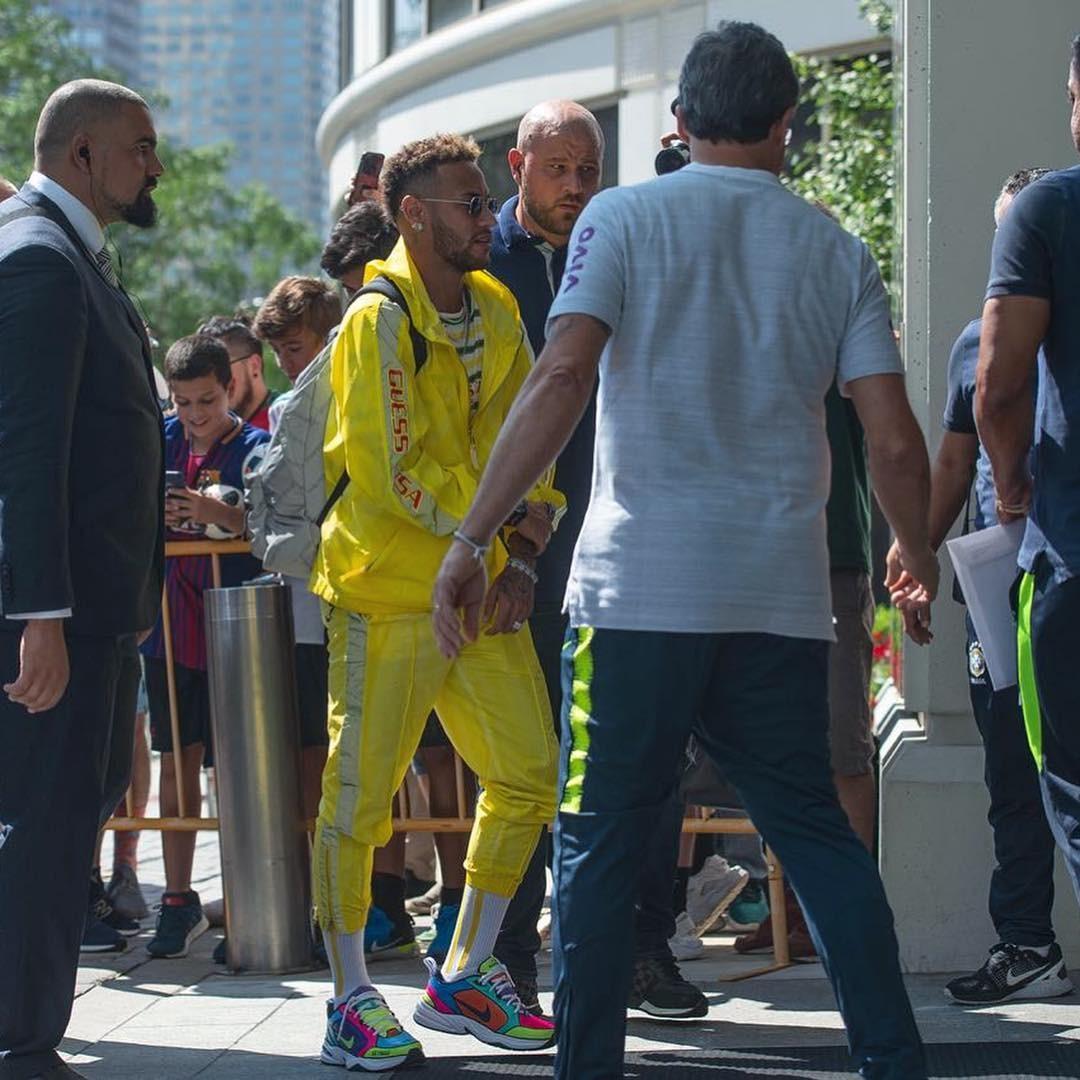 Neymar se apresenta à seleção em Nova Jersey (Foto: Reprodução/Instagram)