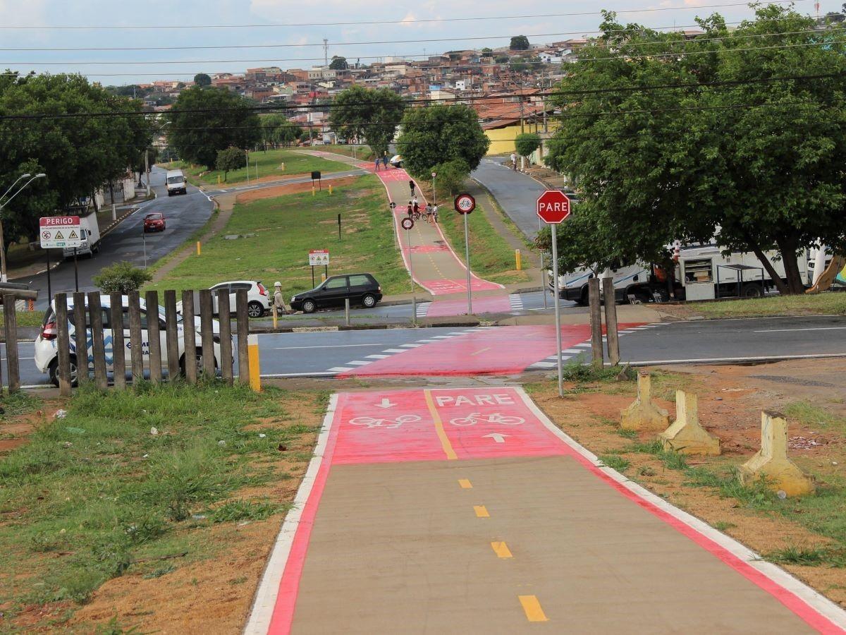 Campinas conclui ciclovia de 3,7 km entre corredores Campo Grande e Ouro Verde