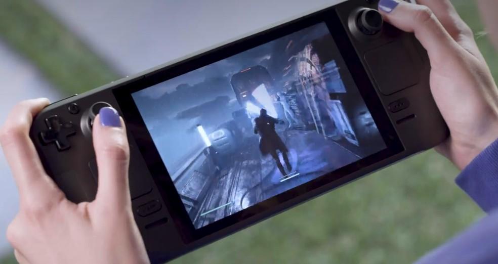 Steam Deck é o novo videogame portátil da Valve que compete com Nintendo Switch — Foto: Reprodução/Valve
