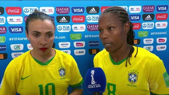 Brasil perde para França e está fora da Copa do Mundo feminina