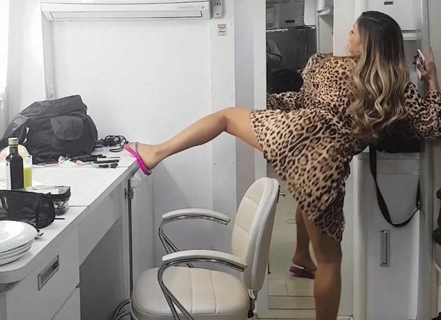 Claudia Leitte: bumbum balançando (Foto: Reprodução Instagram)
