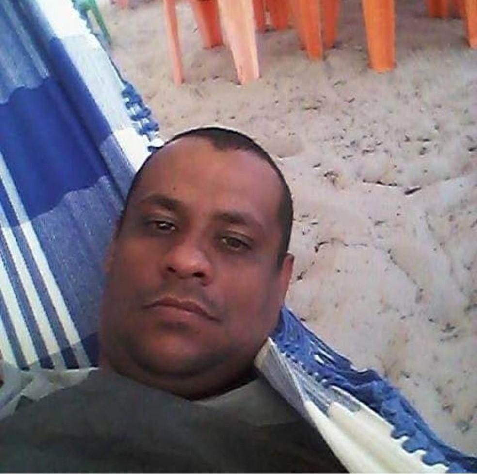 Rogério Costa dos Santos, tinha 47 anos.  — Foto: Cedida