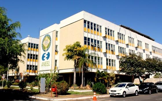 Fachada do prédio da Aneel em Brasília (Foto: Reprodução )