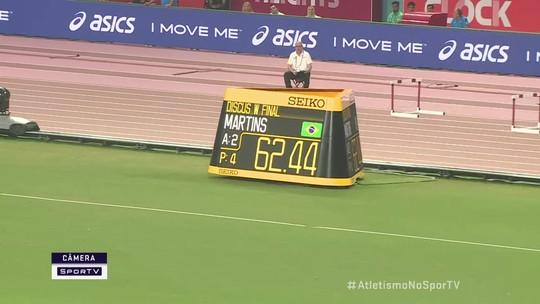 Fernanda Martins faz 62.44 no arremesso de disco