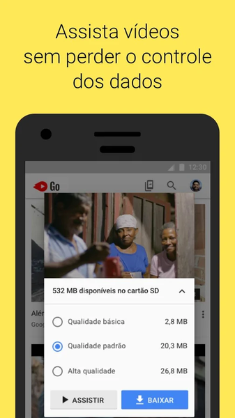YouTube Go | Download | TechTudo