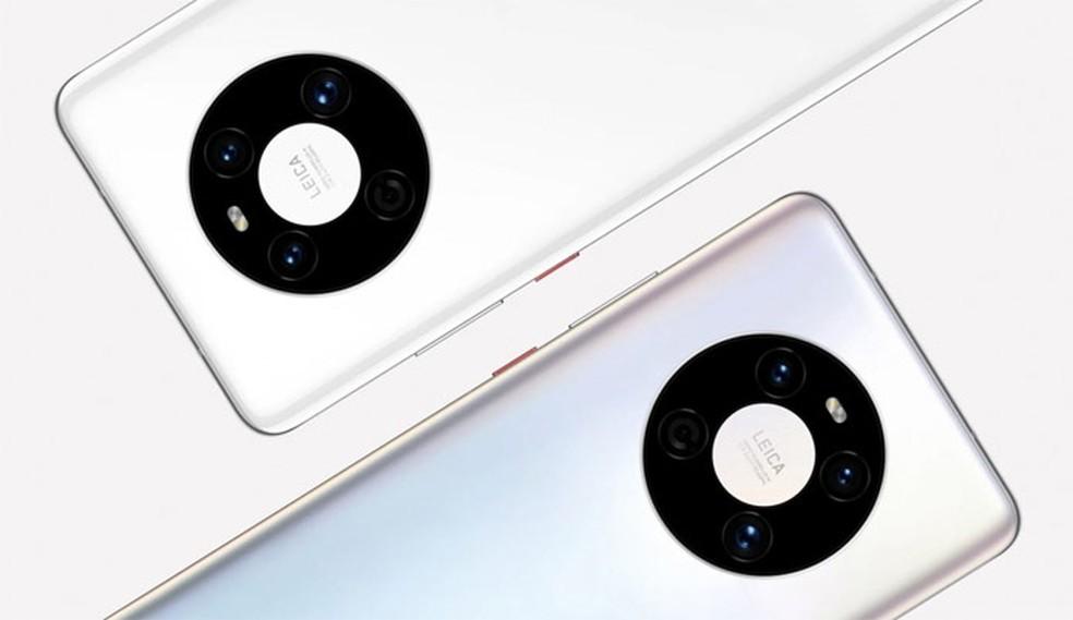 Linha Mate 40 aposta em câmeras para atrair novos clientes — Foto: Divulgação/Huawei