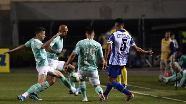 CSA não teve chance contra o Palmeiras