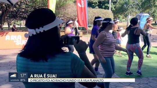 Projeto 'A Rua é Sua' vai à Vila Planalto e ao Riacho Fundo