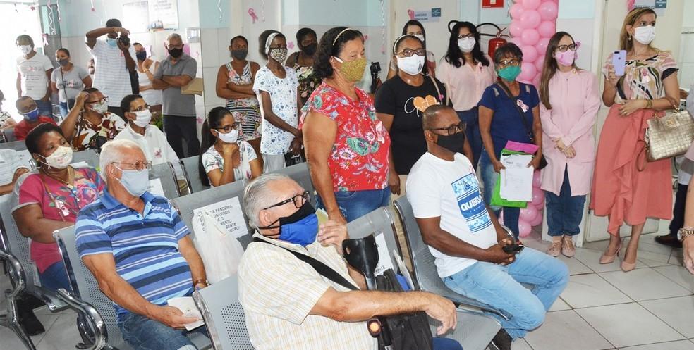 Fundação de Feira de Santana realiza mamografias no Outubro Rosa — Foto: Prefeitura de Feira de Santana