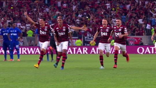 """""""Donde estoy?"""", perguntou Marí. De Abel a Jesus, veja o caminho do Flamengo até a final em Lima"""