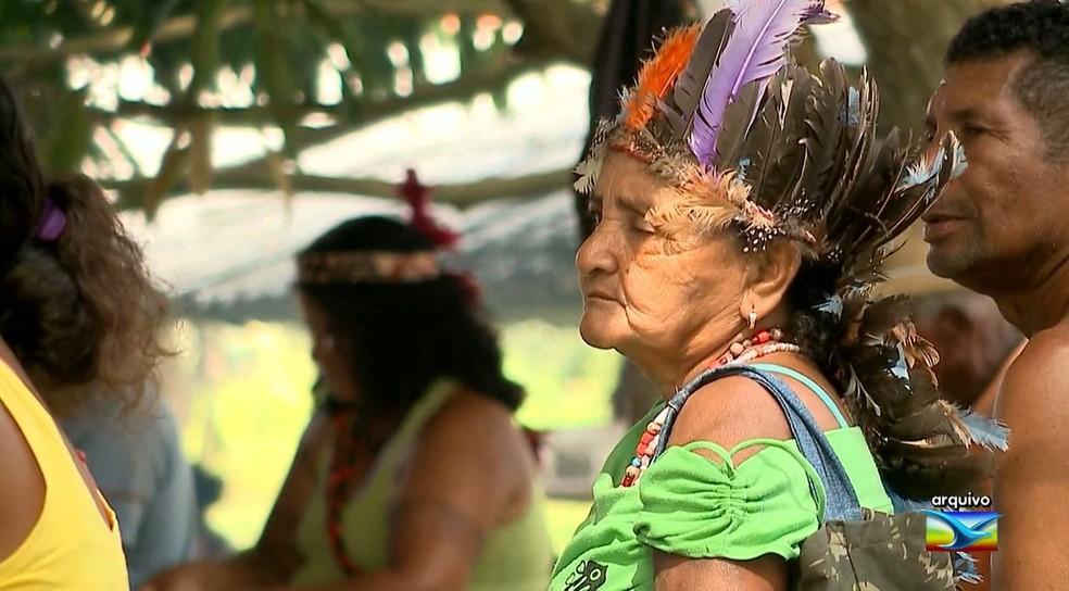 Áreas indígenas também estão incluídas em regiões com conflitos por terra no Maranhão — Foto: Reprodução/TV Mirante