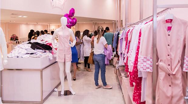 A loja de Brasília da Dra. Cherie. (Foto: Divulgação)