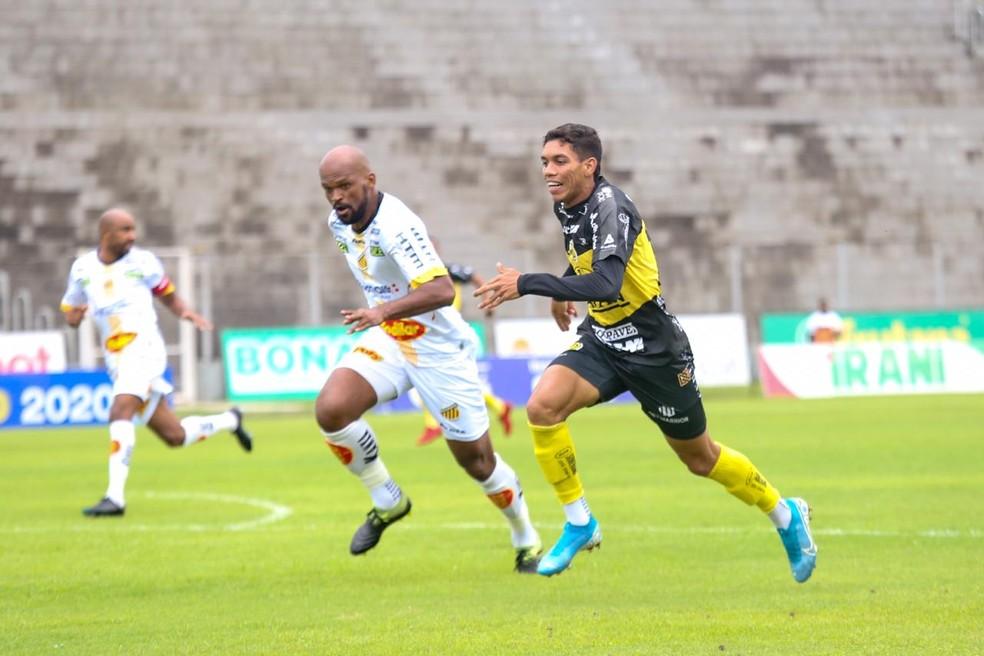 FC Cascavel vence o Novorizontino e abre vantagem na Série D — Foto: Felipe Fachini/FC Cascavel