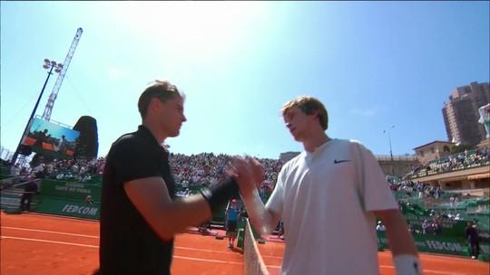 Melhores momentos de Dominic Thiem 2 x 1 Andrey Rublev pelo Masters 1000 de Monte Carlo