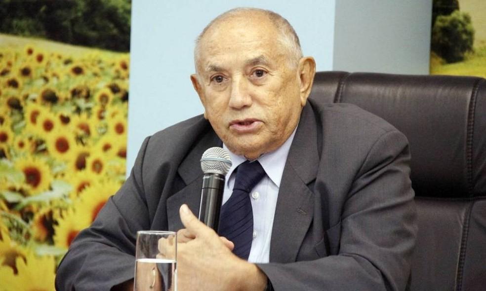 Siqueira Campos recebeu alta de hospital de Palmas — Foto: Divulgação/ATN