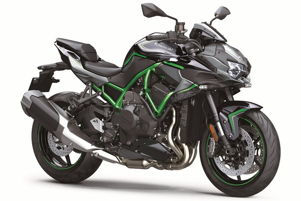 Kawasaki ZH2 (Foto: Divulgação)