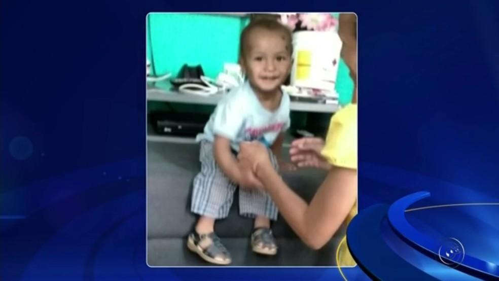 Samuel morreu depois de passar mal em Araçatuba (Foto: Reprodução/TV TEM)