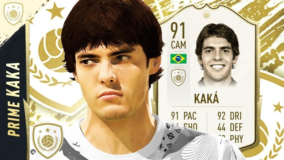 Kaká é um dos Icons mais recentes do FIFA — Foto: Reprodução