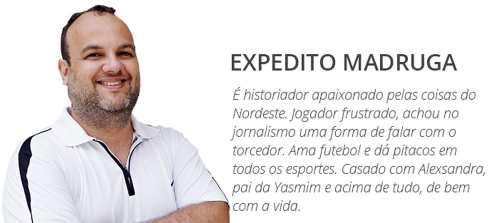 Expedito Madruga (Foto: GloboEsporte.com)