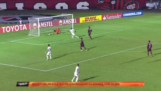 """Frango no Paraná: Weverton falha feio em gol e leva o """"garrancho"""" da rodada"""