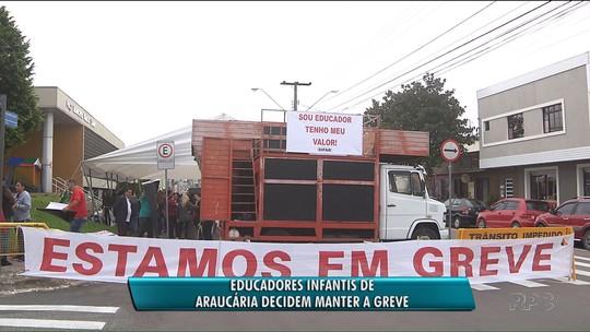 Justiça determina que pelo menos 50% dos servidores da educação voltem ao trabalho em Araucária