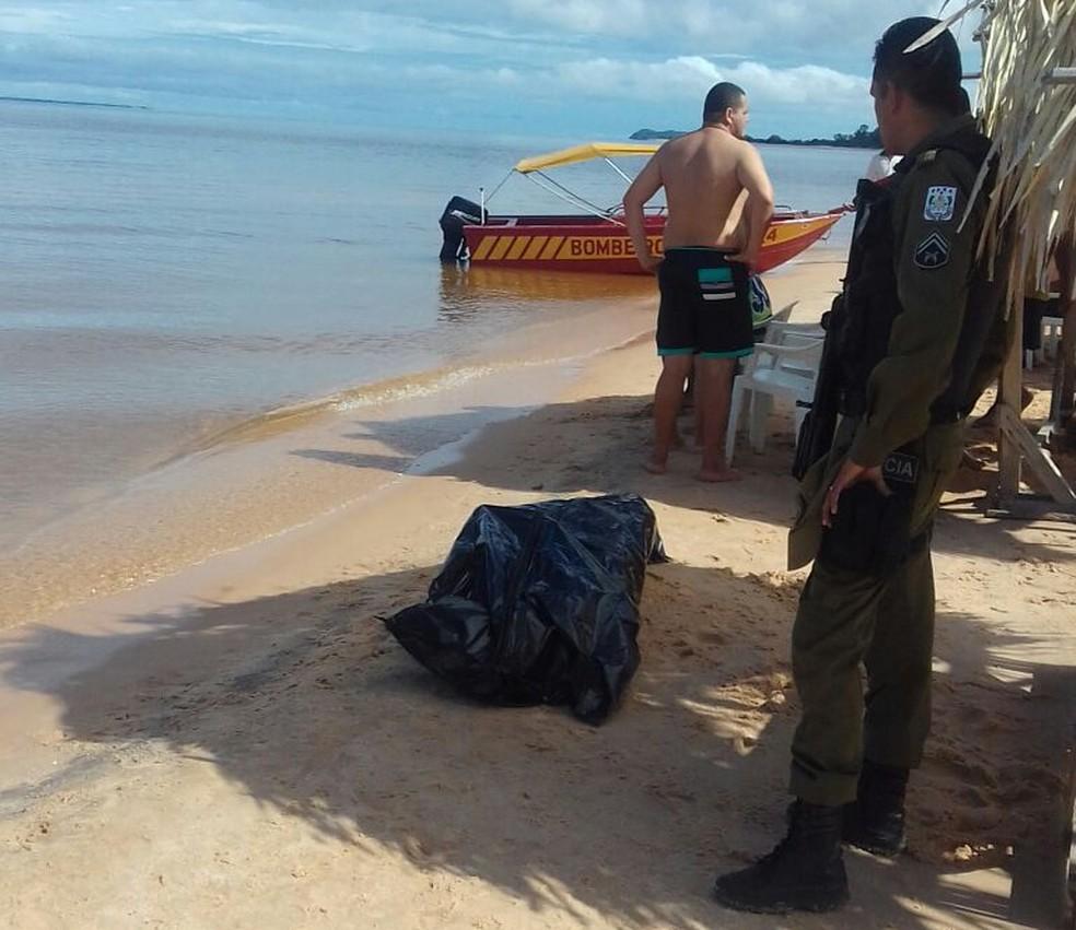 -  Corpo foi encontrado por volta das 9h desta quarta-feira  Foto: 4ºGBM/Divulgação