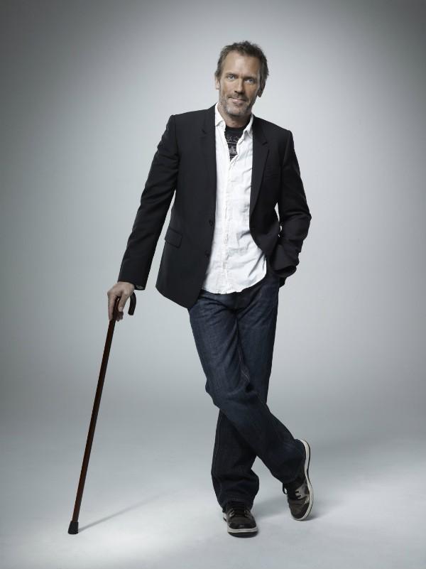 O ator Hugh Laurie no papel do protagonista da série 'House' (Foto: Reprodução)