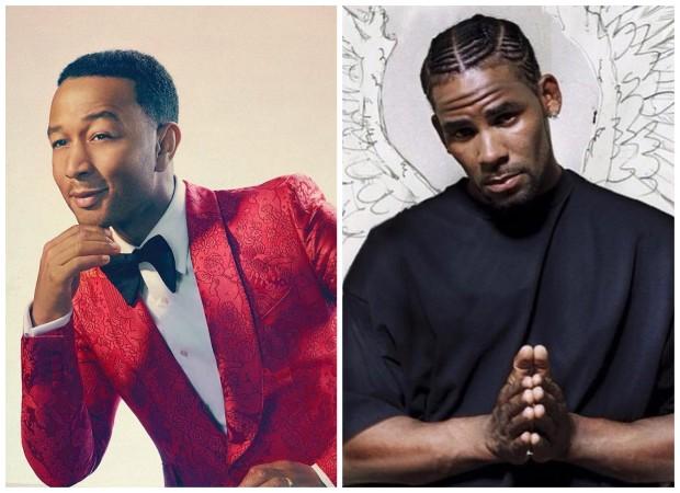 John Legend e R. Kelly (Foto: Instagram/Reprodução)