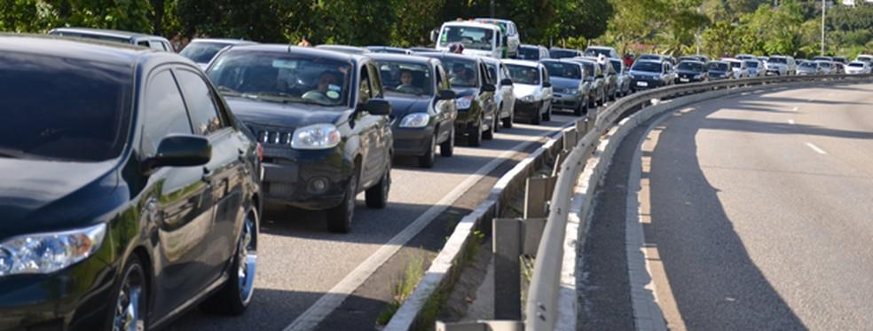 Proposta da jornada é motivar as pessoas a deixarem o carro em casa (Foto: Walter Paparazzo/G1)