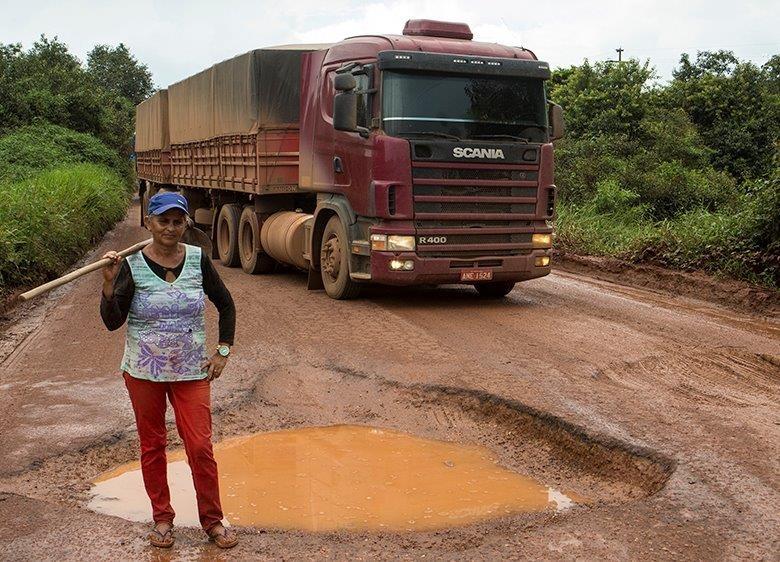 A lavradora Maria dos Santos Soares - Caminhos da Safra (Foto: Fernando Martinho/Ed.Globo)