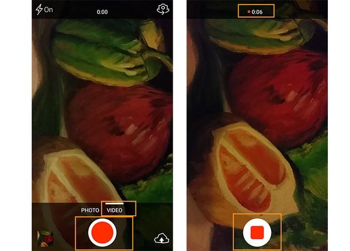 Grave vídeos compactos no Android (Foto: Reprodução/Barbara Mannara)