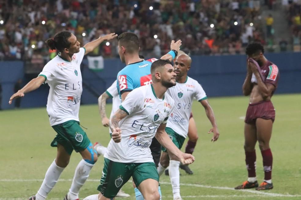Manaus e Jacuipense disputarão a primeira Série C de suas histórias — Foto: Emanuel Mendes Siqueira
