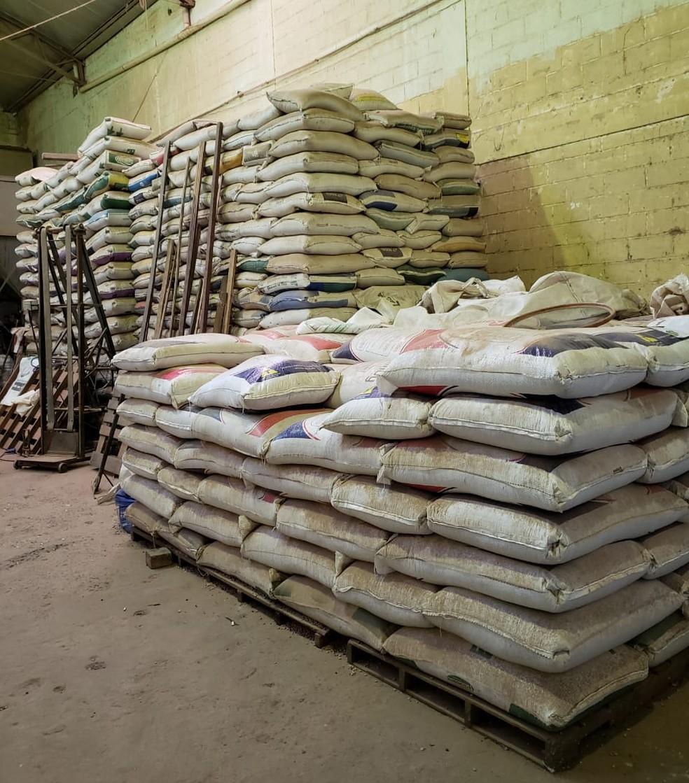 Operação contra fraude na comercialização de grãos é realizada na manhã desta terça — Foto: Receita Federal/Divulgação