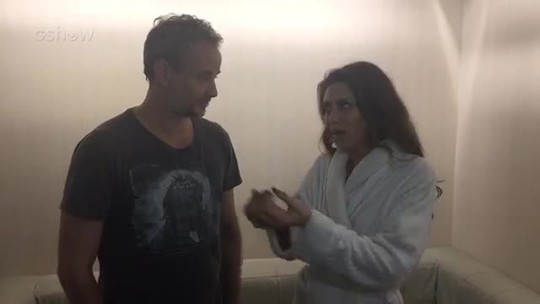 Maria Fernanda Cândido 'cobra' Dan Stulbach por causa de traição de Eugênio